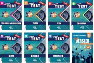 Tümler Yayınları 9. Sınıf Tüm Dersler Yaprak Test ve Soru Bankası Seti