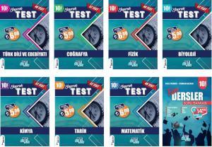 Tümler Yayınları 10. Sınıf Tüm Dersler Yaprak Test ve Soru Bankası Seti