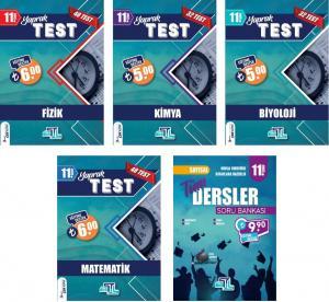 Tümler Yayınları 11. Sınıf Sayısal Yaprak Test ve Soru Bankası Seti