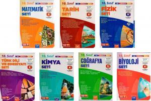 Çap Yayınları 10. Sınıf Tüm Dersler Fasikül Set