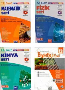 Çap Yayınları 12. Sınıf Sayısal Tüm Dersler Fasikül Set