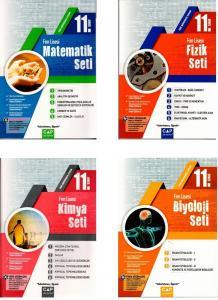 Çap Yayınları 11. Sınıf Fen Lisesi Tüm Dersler Fasikül Set