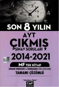 Çap Yayınları AYT MF Tek Kitap Çıkmış Sorular
