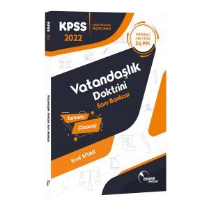 Doktrin Yayınları KPSS Vatandaşlık Doktrini Tamamı Çözümlü Soru Bankası 2022