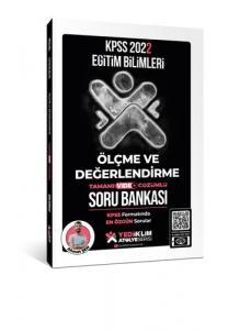 Yediiklim Yayınları KPSS Eğitim Bilimleri Ölçme ve Değerlendirme Soru Bankası 2022